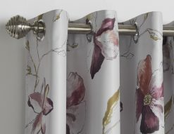 floral_red_eyelet_curtains